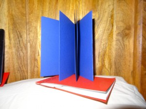 Leaflet fold a3
